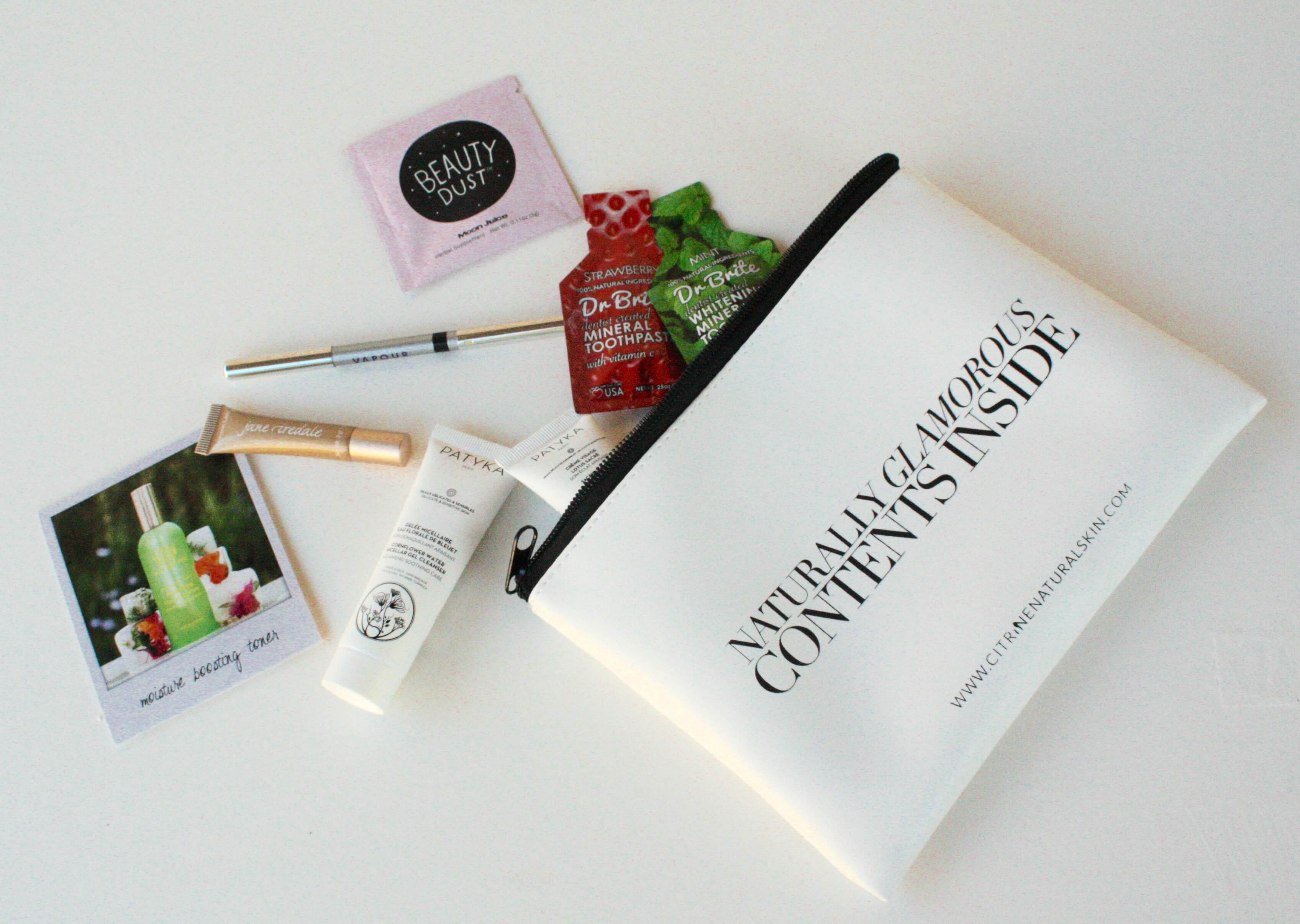 Ethical Beauty Girl's Night In With Organic Bunny and Citrine